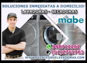Mabe reparación de lavadoras y secadoras 2761763