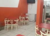 Restaurante  amoblado 900s/. listo para funcionar