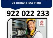 Reparaciones electricas en lima peru 922 022 233