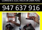 electricistas fugas de luz, fugas de corriente