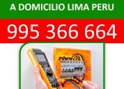 995 356 664/ servicio de electricidad a domicilio