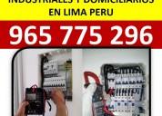 965 775 296/servicios electricos domiciliario lima