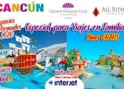 Cancún espacios confirmados 2020 vía interjet