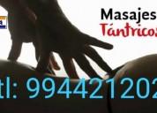 Masajes sensuales tantricos para terminar tu dia