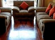 Vendo juego de sala: sillones de 1, 2 y 3 asientos