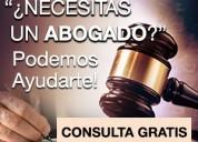 Necesitas abogado? consulta gratis..lunes-domingo