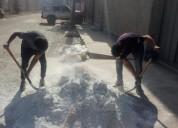 Terrazo y granito lavado