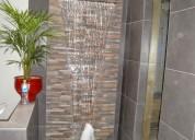 Cascada de fibra de vidrio de 70 cm