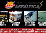 Manto asfÁltico  importadores, venta y servicio