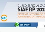 Curso especializado siaf rp 2020 (nuevo)