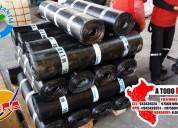 Membrana asfaltica con geotextil