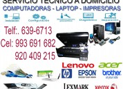 ReparaciÓn de impresoras a domicilio 993691682
