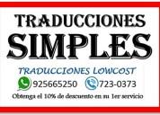 Traducciones simples 925665250
