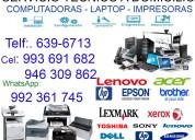 993691682 servicio tÉcnico de impresora epson y hp