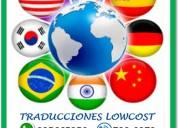 traducciones certificadas en todos los idiomas