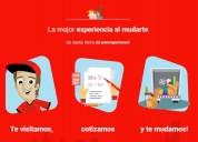 Servicio de mudanzas en san isidro