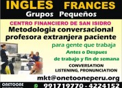 Ingles grupos  zona empresarial san isidro