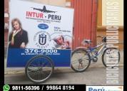 Bicicletas publicitarias efectivas