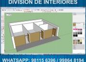 Mezzanine y divisiones de interiores