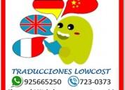 Traducciones en lima | cotiza con nosotros