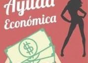 Apoyo económico a señorita discreta