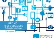 Manejo de redes sociales | marketing digital para