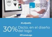 Desarrollo de logotipo | marketing digital chiclay