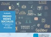 Manejo de redes sociales |marketing digital para m