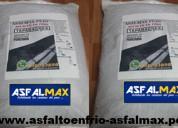 Distribucion de asfalto para pistas y techos