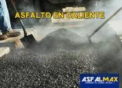 Venta de asfalto en caliente puesto en obra