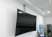 Rack techo para televisores grandes 65 a 75 pulg