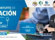 Diplomado gratuito en tributaciÓn 2020