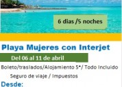 Viaje en semana santa a isla mujeres mexico