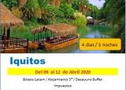 Viaje a iquitos en semana santa 2020 agencia
