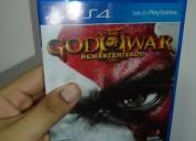 Juego god of war iii remasterizado para ps4,nuevo