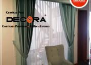 Confección de cortinas en santiago de surco,decora