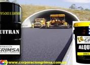 Venta de asfaltos y aditivos asfalticos de calidad