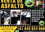 Asfalto rc 250 pintura para trafico amarillo