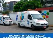 Ambulancias traslados desde 140 soles