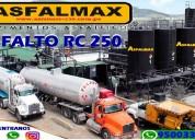 Asfalto rc-250  venta en cilindro de 55 galones