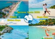 Viajes internacionales semana santa 2020