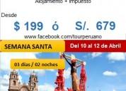 Semana santa viaje a cusco