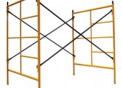Venta de andamios acrow nuevos pintados o galvaniz
