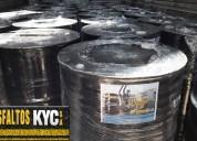 Somos competitivas compre asfalto en asfaltos k&c