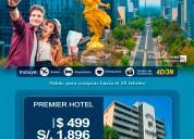 Oferta de viaje a mexico distrito federal 2020