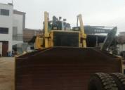 Vendo tractor de oruga komatsu 2012.