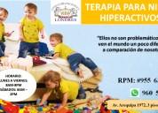 Terapia para niños con hiperactividad
