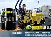 Asfalto rc 250 a la venta emulsiones asfalticas
