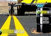 Pintura de trafico  ,amarillo señalizacion x latas