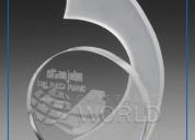 Trofeos de vidrio, trofeos en cristal en lima peru